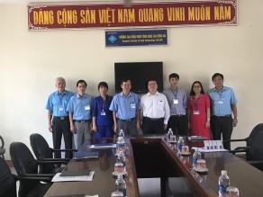 Công ty TNHH Hayamizu Việt Nam đến thăm và làm việc với Trường