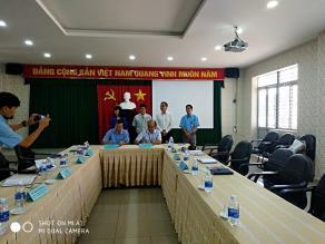 Sáng 20/6/2018, Trung tâm Đào tạo Công nghệ cao TP.HCM (SHTP) thăm, làm việc và ký hợp tác với Trường Cao đẳng nghề Công nghệ cao Đồng Nai (DCoHT)