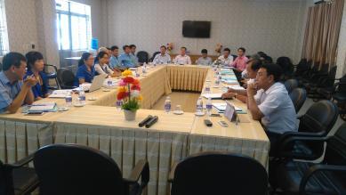 Sở LĐ-TBXH Tỉnh Tiền Giang đến tham quan và làm việc  tại Trường Cao đẳng nghề Công nghệ cao Đồng Nai (DCoHT)