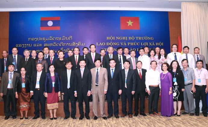 Trường tham dự Hội nghị Bộ trưởng Việt-Lào, Danang 2-4/8/2017